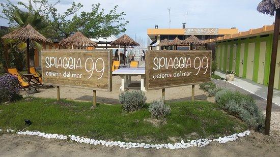 Pinarella, Italie : Spaiggia 99 ex boca chica