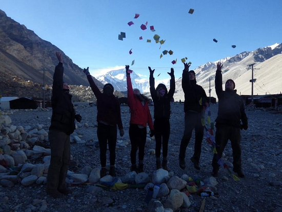 Kathmandu Valley, เนปาล: At the Tibetan Everest base camp during the 8 day tour of Tibet (taken 2014)