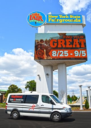 Maplewood Suites Extended Stay: Shuttle at Fairgrounds