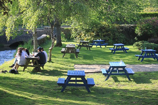 Bathurst Arms: Beer garden