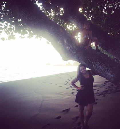 Terraza del Pacifico: Visual incrível da praia, logo em frente ao hotel, hotel pé na areia!