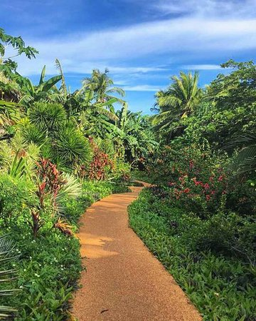 Best place Siquijor: huge lush resort to get lost in