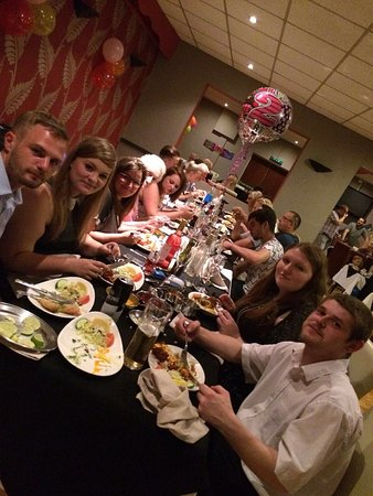 Burntwood, UK: Birthday party