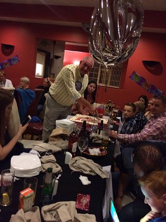 Burntwood, UK: Party of 71 for Birthday Party