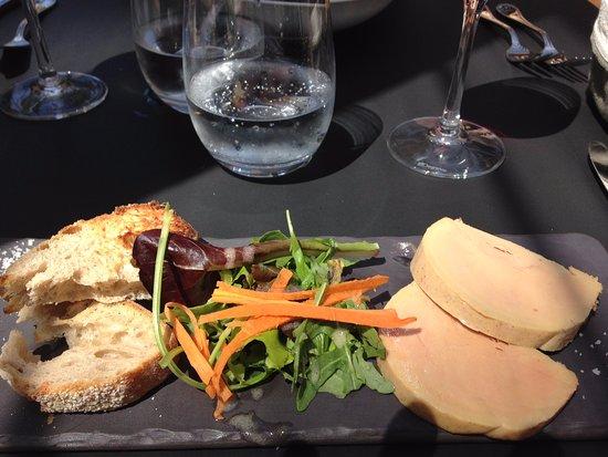 Ferrieres-en-Brie, Francja: entrée fois gras maison