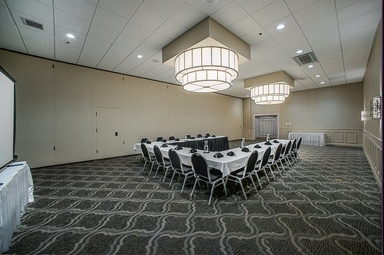 Alton, IL: Newly renovated Meeting Room Ushape setup