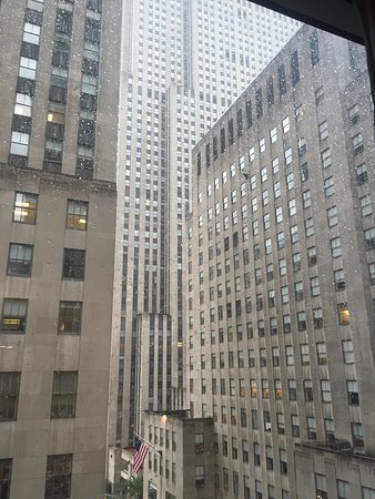 The Jewel facing Rockefeller Center: View from our room 1010