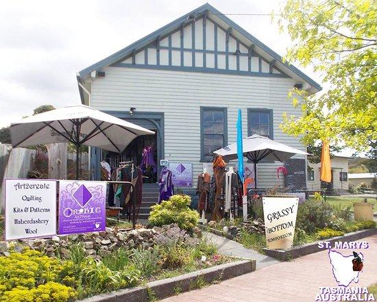 St Marys, Austrália: GRASSY BOTTOM EMPORIUM TASMANIA (formely e Scape)