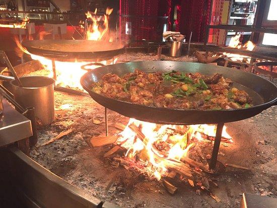 Jaleo Open Fire Grill