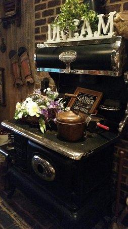 Hollidaysburg, Pensilvania: Charming dining room decor