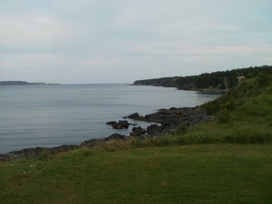 Witless Bay, Canada: View of the water from the B&B grounds.