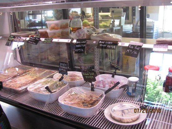 Three Forks Grille : At Lunch you Select from the Deli