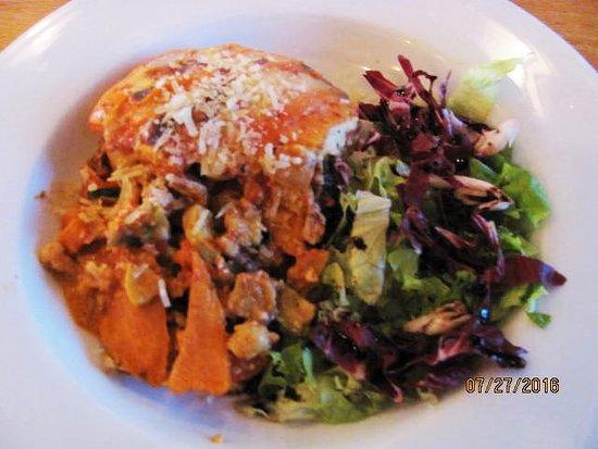 Three Forks Grille : Vegetarian Lasagna