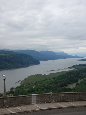 Columbia River Gorge: Vista House view