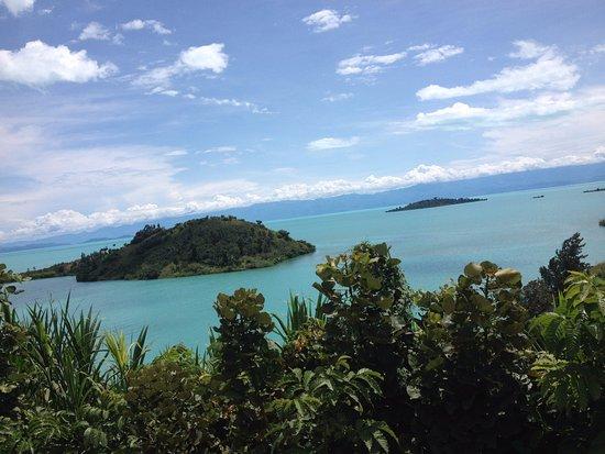 Γκισενιί, Ρουάντα: Coffee Islands in lake kivu