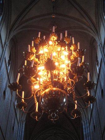 Uppsala, Swedia: Lovely chandeliers