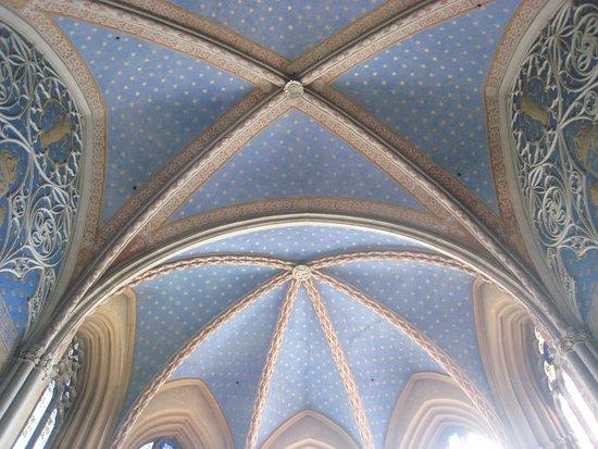 Uppsala, Sweden: Grand ribbed ceiling