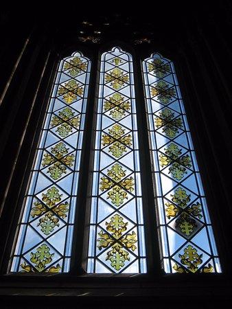 Uppsala, Sweden: Fine stained glass