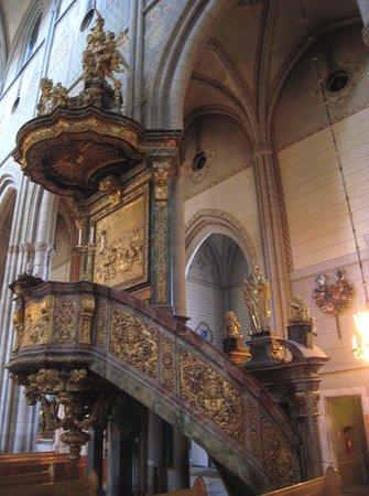 Ουψάλα, Σουηδία: Ornate pulpit