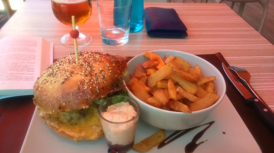 Saint-Flour, France: Burger Lou Cantalou