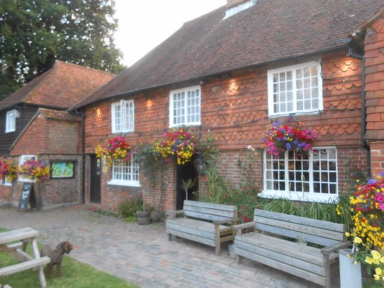 Wadhurst, UK: The Bull Inn, on a warm July evening.