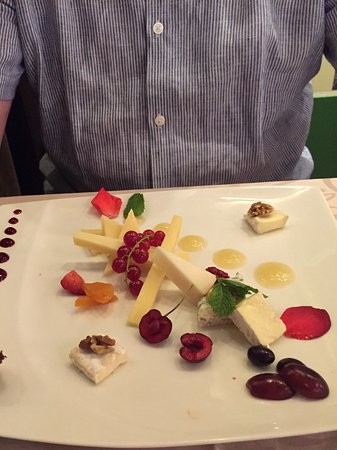Restaurante Goya: Cheese board