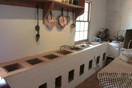Charlottesville, VA: An eight burner wood fired stove