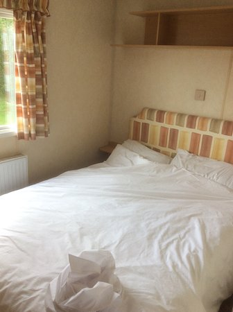 Southerness, UK: Double bedded room