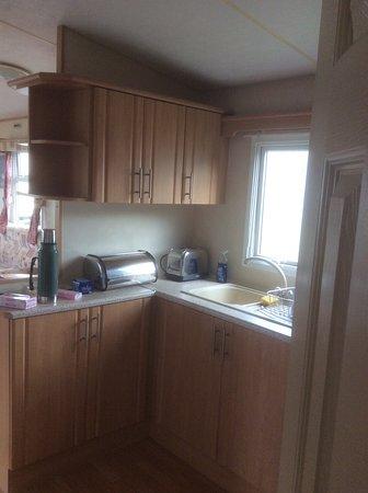 Southerness, UK: Kitchen area