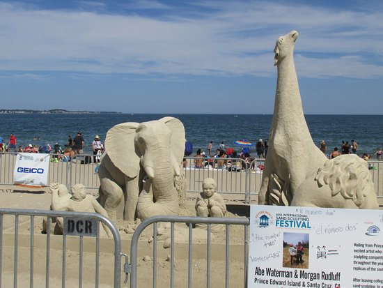 Revere Beach Sand Sculpture 2016