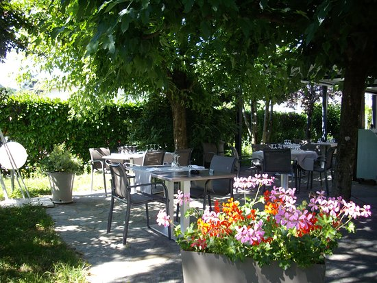 Echirolles, Francia: terrasse