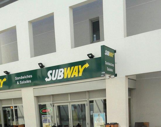 Biot, Francia: Subway