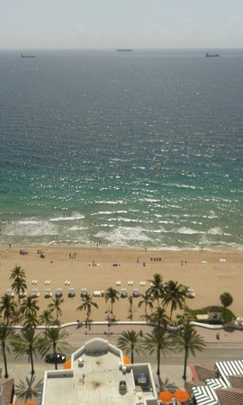 Marriott's BeachPlace Towers: Vista maravillosa del piso 19