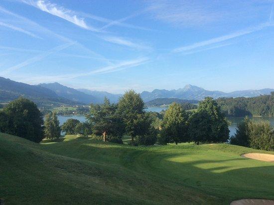 Pont-la-Ville, Suíça: Vue de la chambre