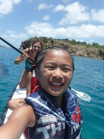 Road Town, Tortola: We loved Paddle Boarding!