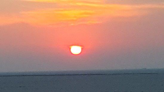 White Desert: White rann of Kutch - sunset