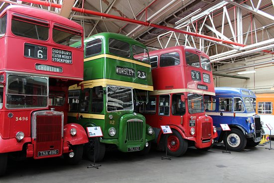 Museum of Transport: Manchester Bus Museum