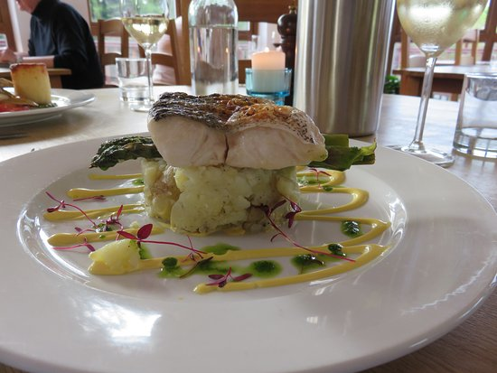 Dervaig, UK: Hake mains at Am Berlinn