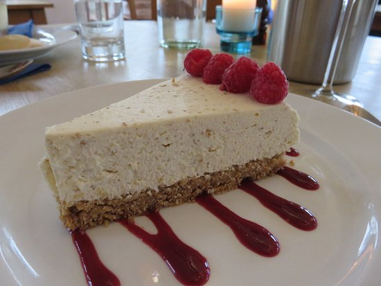 Dervaig, UK: Cheesecake at Am Berlinn