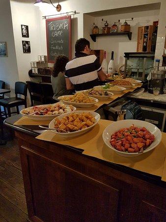 Tribeca Cafe: Altre proposte.