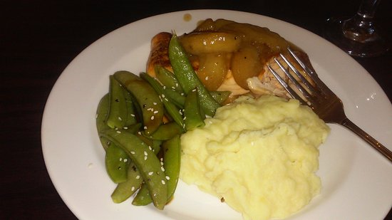 Tamaqua, PA: Salmon/peas/4 cheese potatoes