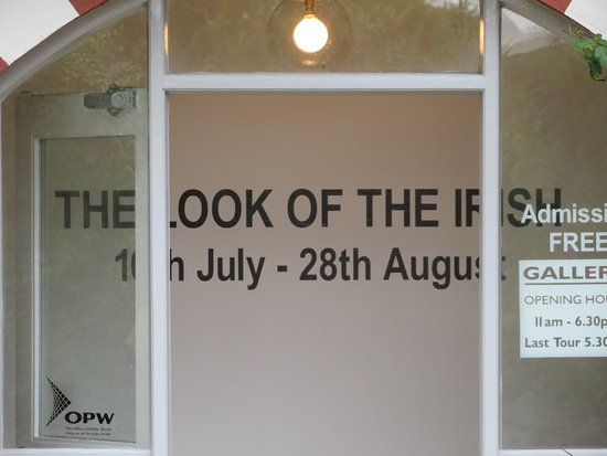 Glebe House and Gallery: The Look Of The Irish was the current exhibit.