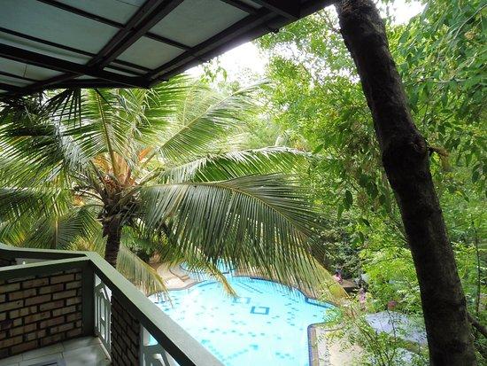 Eden Garden Hotel : panorama dalla camera