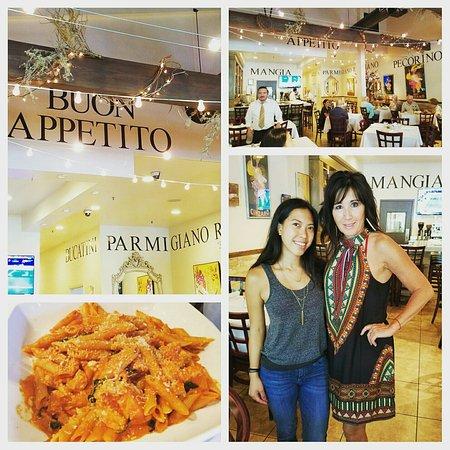 Los Gatos, Kalifornien: Working lunch at Aldo's Café...deliziosa!