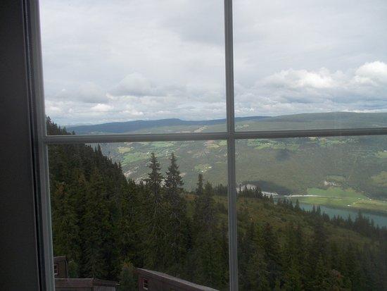 Municipio de Ringebu, Noruega: Udsigt fra værelse 212.