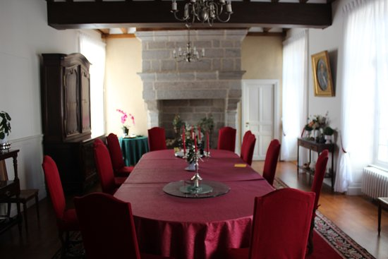 La Flocelliere, ฝรั่งเศส: Dining Room