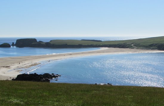 Scalloway, UK: St Ninian's Isle