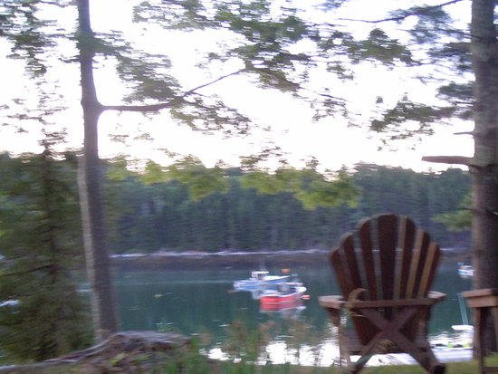 Quahog Bay Inn in Harpswell, Maine: From the Adirondack chairs