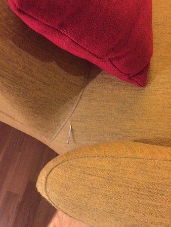Gardermoen, Noruega: Farlig stol!