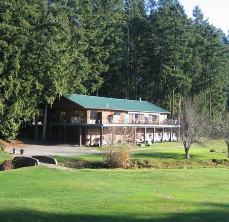 Île Gabriola, Canada : The clubhouse.
